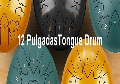 Tongue drum de 12 pulgadas de diametro